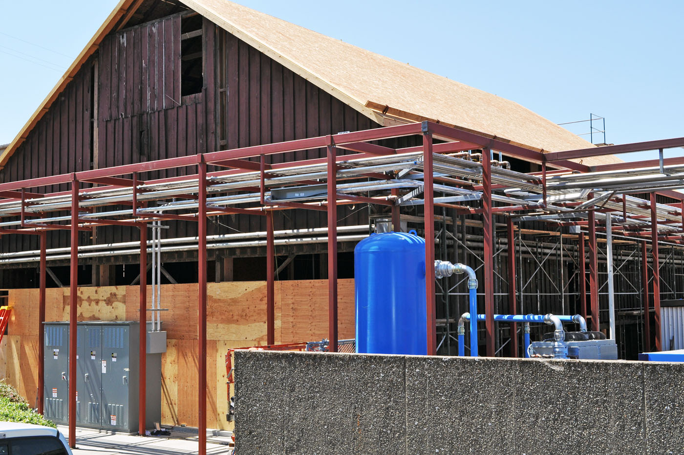 Sonoma County Barn Restoration Winery Building Construction